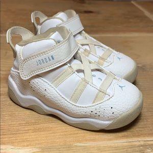 Jordan Baby 6 Rings White Sneakers